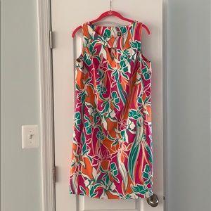 Anne Klein tropical print dress